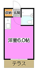ラヴニール志木4[1階]の間取り