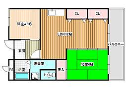 パブリックマンション[3階]の間取り