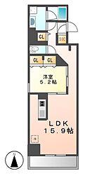 ロイジェント新栄II[10階]の間取り