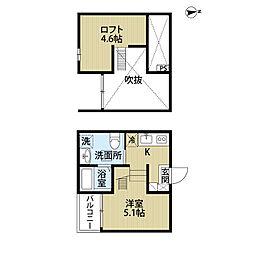 SEED (シード)[1階]の間取り