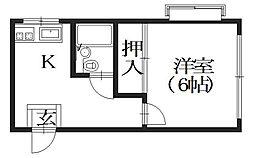 第二アイエムビル[3階]の間取り