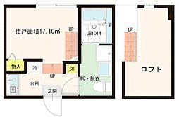 (仮称)平井7丁目Aコーポ[2階]の間取り