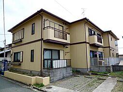 兵庫県宝塚市売布ガ丘の賃貸アパートの外観