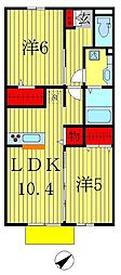 仮)D-room北松戸2丁目[1階]の間取り