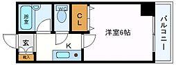 セレーノ井田[603号室号室]の間取り