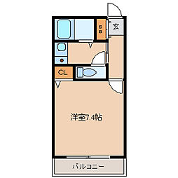 アルテハイム尼崎[4階]の間取り