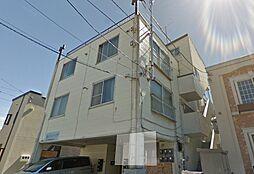 北海道札幌市東区北二十五条東10丁目の賃貸アパートの外観
