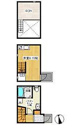 (仮称)アースクエイク北大和[1階]の間取り