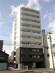 北海道札幌市中央区南十一条西11丁目の賃貸マンションの外観
