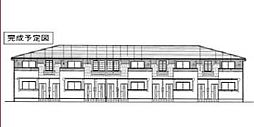 愛媛県東温市田窪の賃貸アパートの外観