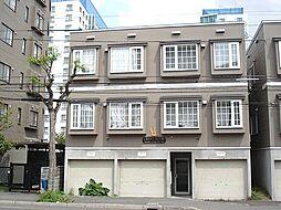 北海道札幌市東区北十条東6丁目の賃貸アパートの外観