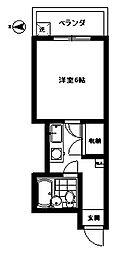 桜台OMマンション[302号室]の間取り