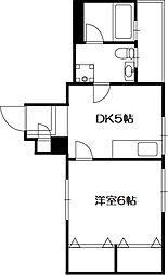 桜台コートハウス[2階]の間取り
