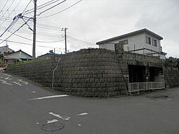西側擁壁(車庫...