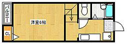ルーブル平尾[2階]の外観