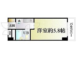 横須賀中央ダイカンプラザシティIII[6F号室]の間取り