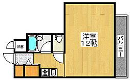 アーク2号館[3階]の間取り