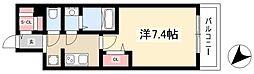 ADVANCE NAGOYA MOXIE 9階1Kの間取り