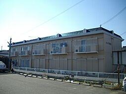 滋賀県蒲生郡日野町大窪の賃貸アパートの外観