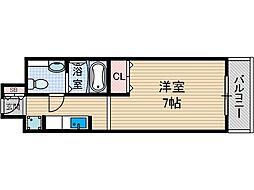 ベラフォーレ[3階]の間取り