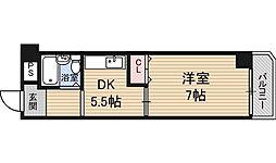 ライトハイツ[1階]の間取り