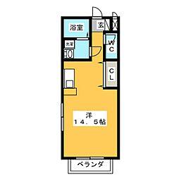 エルフローラ[2階]の間取り