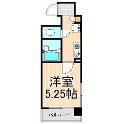 URBAN・STAGE上野[502号室]の間取り