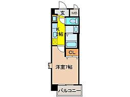 ベルドミール末広五番館[8階]の間取り