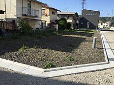 園部分譲地の1号地になります。他の区画もあります。