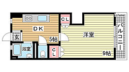 豊田マンション[2階]の間取り