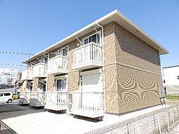 三重県四日市市陶栄町の賃貸アパートの外観