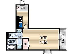 KSコート2[1階]の間取り