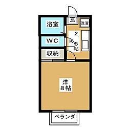 MTコーポIII[2階]の間取り
