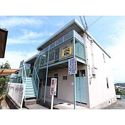 奈良県北葛城郡河合町大輪田の賃貸アパートの外観