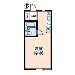 ソレイユ経堂[2階]の間取り