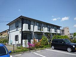 長野県諏訪市小和田南の賃貸アパートの外観