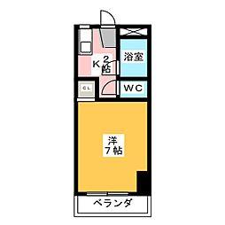 アリエ汐田I[2階]の間取り