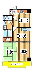 ネモト第三ビル[7階]の間取り