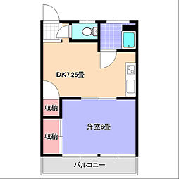 いづみ荘[203号室]の間取り
