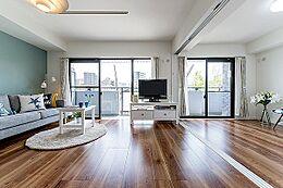 リビング横の洋室(2)とつなげてご使用もできます