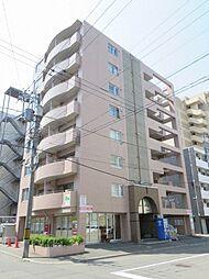 北海道札幌市中央区南二条西13丁目の賃貸マンションの外観