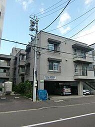 北海道札幌市中央区北六条西19丁目の賃貸マンションの外観