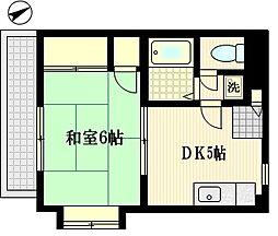 コーナーハイツ千葉[3階]の間取り