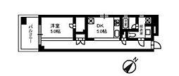 パール相模原ステーションフロント[402号室号室]の間取り