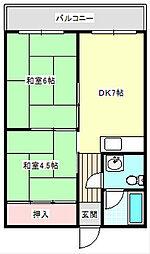 メゾンイノウエ[405号室]の間取り