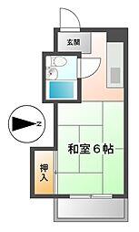 ドルフ千代田[2階]の間取り