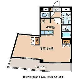 BRANDNEW City2 E棟[1階]の間取り