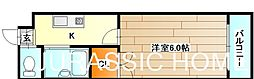 大阪府堺市堺区向陵東町3丁の賃貸マンションの間取り