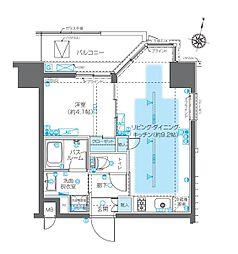 ZOOM神宮前[4階]の間取り