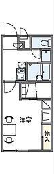 レオパレスグリチーネ[1階]の間取り